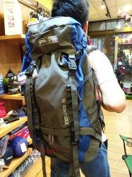 RHINO 犀牛G165 65公升 易調式背負系統背包 登山背包/重裝背包(免運) #附背包防雨套 加贈四節避震登山杖