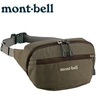 Mont-Bell 休閒腰包/旅行腰包 Delta gusset pouch M 1123764 KHBN深褐