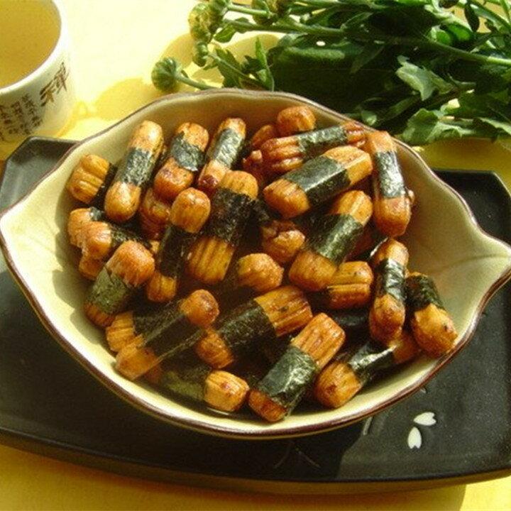 【日式和風醬太郎海苔米果 】《易買健康堅果零嘴坊》