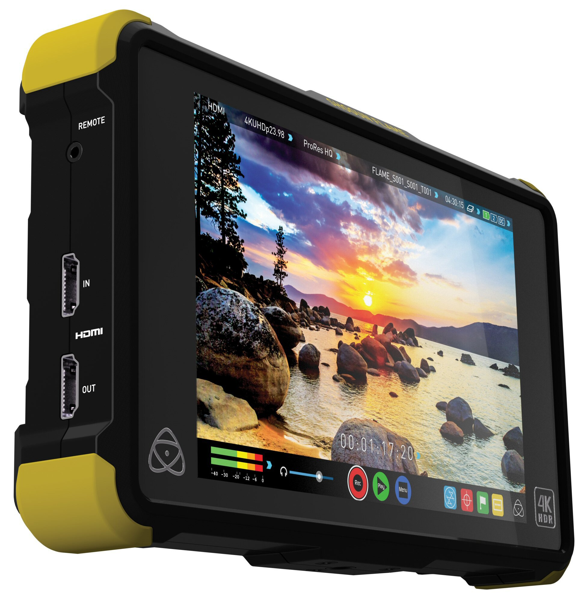 ~相機 ~ ATOMOS Shogun Flame 單機 4K HDR 7吋 監視記錄器