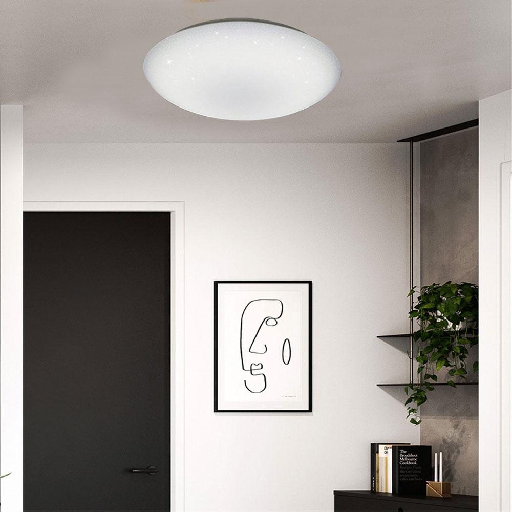 亮博士 / 亮麗星空 LED 18W 全電壓 吸頂燈 白光 黃光 /  /  永光照明DR-REC-18W%D✈99購物節 0