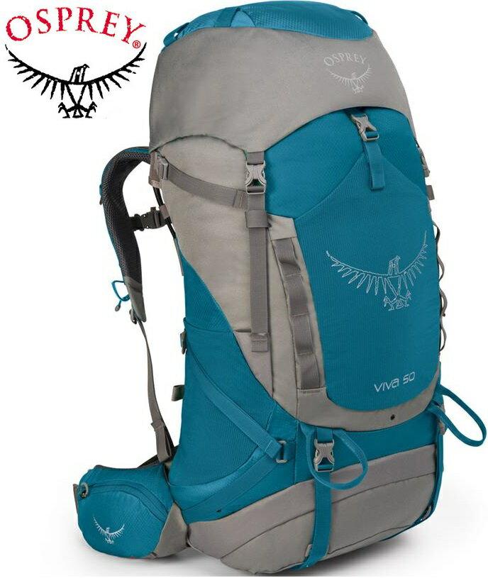 Osprey Viva 50 登山背包/健行背包/大背包 女款 藍/台北山水