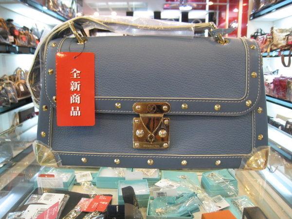 lv藍色山羊皮suhali T型m91821
