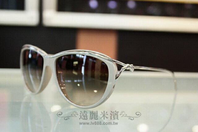 A6778 chanel 大象灰框 銀色 小蝴蝶結 細邊框 太陽眼鏡