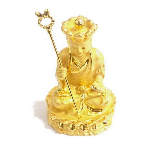 地藏王菩薩 5.4公分 小佛像/法像-金色