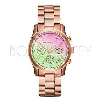 MK6179 MICHAEL KORS 優雅時尚玫瑰金不銹鋼錶帶石英錶 女錶