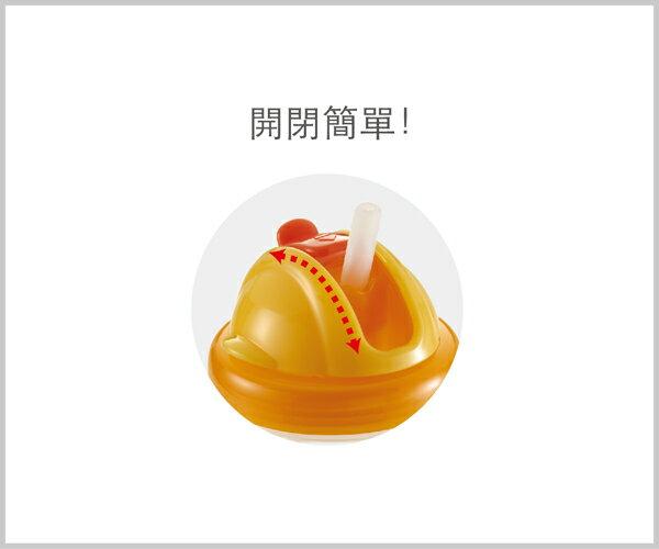 Richell利其爾 - Mugtre嬰童吸管水杯/莫哭杯 200ml (橘) 4