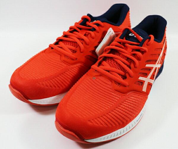 ASICS 亞瑟士 FuzeX 運動鞋 慢跑鞋 T639N-2101 紅 [陽光樂活]