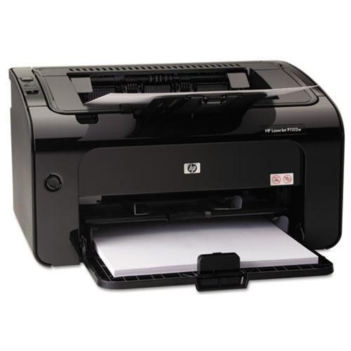 HP LaserJet Pro P1102W Laser Printer - Monochrome - 600 x 600 dpi Print - Plain Paper Print - Desktop - 19 ppm Mono Print - A4, A5, A6, B5, Postcard, C5 Envelope, DL Envelope, B5 Envelope, Legal, Custom Size - 150 sheets Standard Input Capacity - 5000 Dut 3