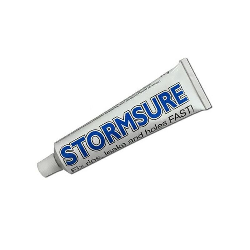 【露營趣】新店桃園 STORMSURE S90 修補縫線膠 90g 修補劑 萬用膠 修補膠 防水 帳篷修復 充氣修補