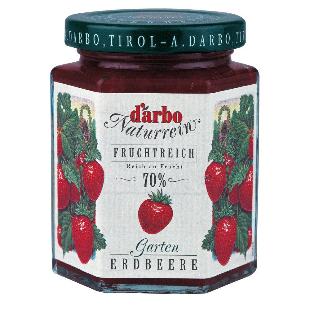 ★滿555領券現折55【Darbo】德寶70%果肉天然草莓果醬 200g (一入)