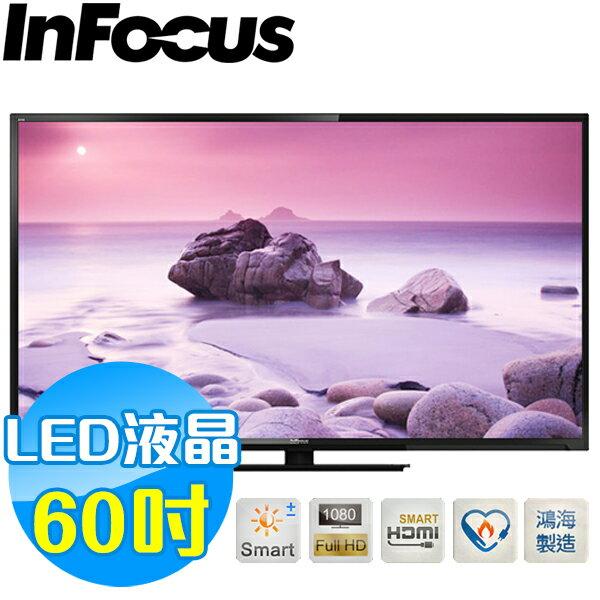 InFocus 60吋 液晶連網顯示器 XT-60CM802 鴻海製造
