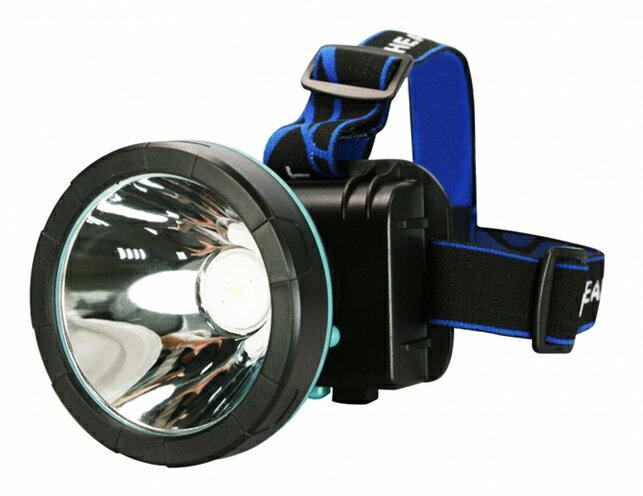 KINYO耐嘉 LED-810 LED高亮度大頭燈 充電式大頭燈 爆亮德國歐司朗 LED燈/露營燈 探險 野燈 緊急照明 登山 夜遊 工作燈