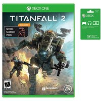 Xbox Live 12-Mo Gold Membership & Xbox One Titanfall 2 Bundle