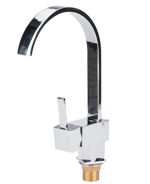 Contemporary Kitchen Bar / Bathroom Vessel Sink Faucet Swivel Spout 0