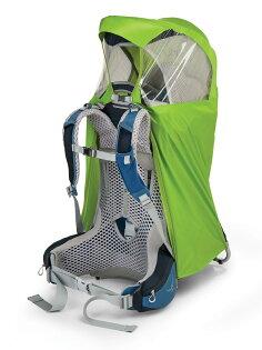 OspreyPocoAg背包套嬰兒背架防雨套電光綠