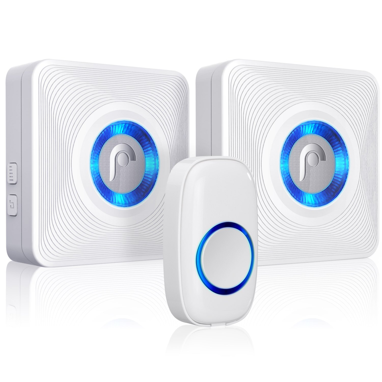 Osmon WaveLink Wireless Door Chime With 2 Receiver And 1 Magnetic Window/ Door Sensor