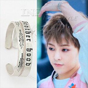 ☆ New Style ☆ EXO XIUMIN 金珉錫 韓國進口 同款復古橢圓C形手環 (單只價)
