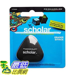 [106美國直購] Prismacolor 橡皮擦 Scholar Latex-Free Eraser, 1-Count a223