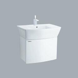 HCG臉盆浴櫃 /不含水龍頭/L551SAdb+LCP551B