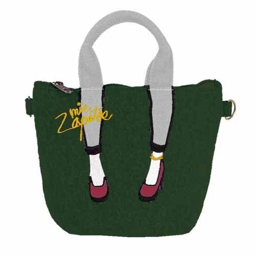 【真愛日本】16102100021日本Mis Zapatos 數位萬用美腿包-綠   高跟鞋包 日本爆紅熱銷款 預購