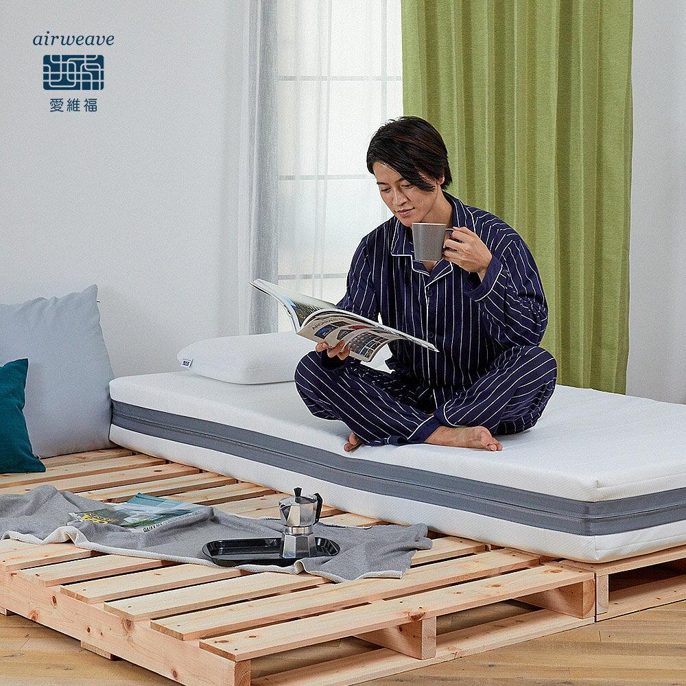 airweave 愛維福|三分割可水床墊21公分 渡邊直美指定愛用款 (日本市佔第一薄墊品牌 原裝進口) 5