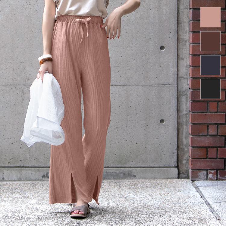 日本Kobe lettuce  /  夏季輕膚休閒長褲  /  m2544-日本必買 日本樂天直送。滿額免運(2380) 0