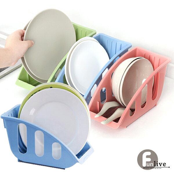 【aife life】L型碗盤瀝水收納架/瀝乾籃/瀝水籃/文件架/書報架/廚房用品/置物架/櫥櫃收納/多功能架/廚房整理/萬用架/贈品禮品