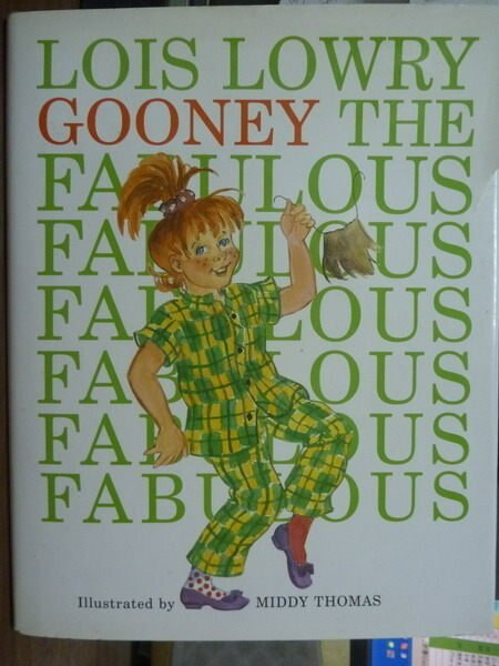 【書寶二手書T4/原文書_QLE】Gooney the Fabulous_Lowry