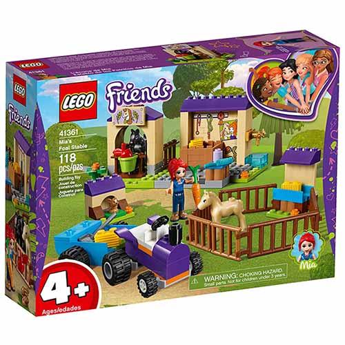 樂高LEGO 41361 Friends 姊妹淘系列 - 米雅的馬棚 - 限時優惠好康折扣