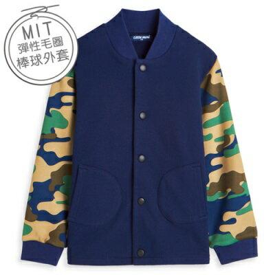 Little moni 美式經典迷彩棒球外套