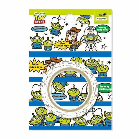 迪士尼紙膠帶DPCF-8008-玩具總動員與三眼怪《品文創》
