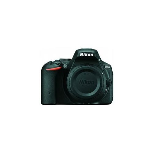 "Nikon D5500 24.2 Megapixel Digital SLR Camera Body Only - Black - 3.2"" Touchscreen LCD - 16:9 - i-TTL - 6000 x 4000 Image - 1920 x 1080 Video - HDMI - PictBridge - HD Movie Mode - Wireless LAN 1"