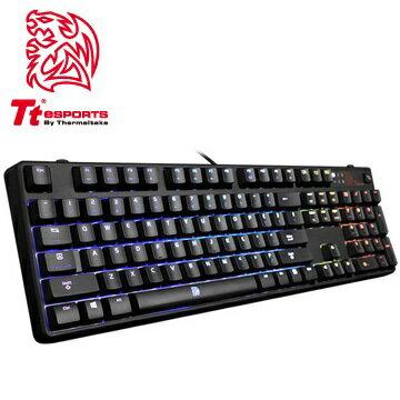 曜越【波賽頓 Z RGB 全彩背光 茶軸】機械式電競鍵盤