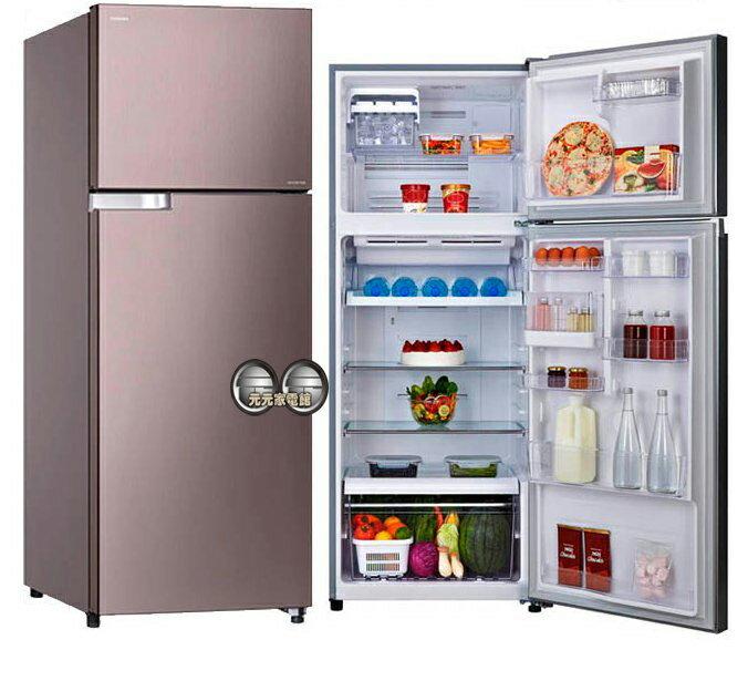 <br/><br/>  TOSHIBA 東芝409L變頻二門電冰箱 GR-T46TBZ(DS)~含配送+基本安裝<br/><br/>