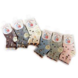 【淘氣寶寶】比得兔防滑精繡寶寶襪9-12公分SK3854