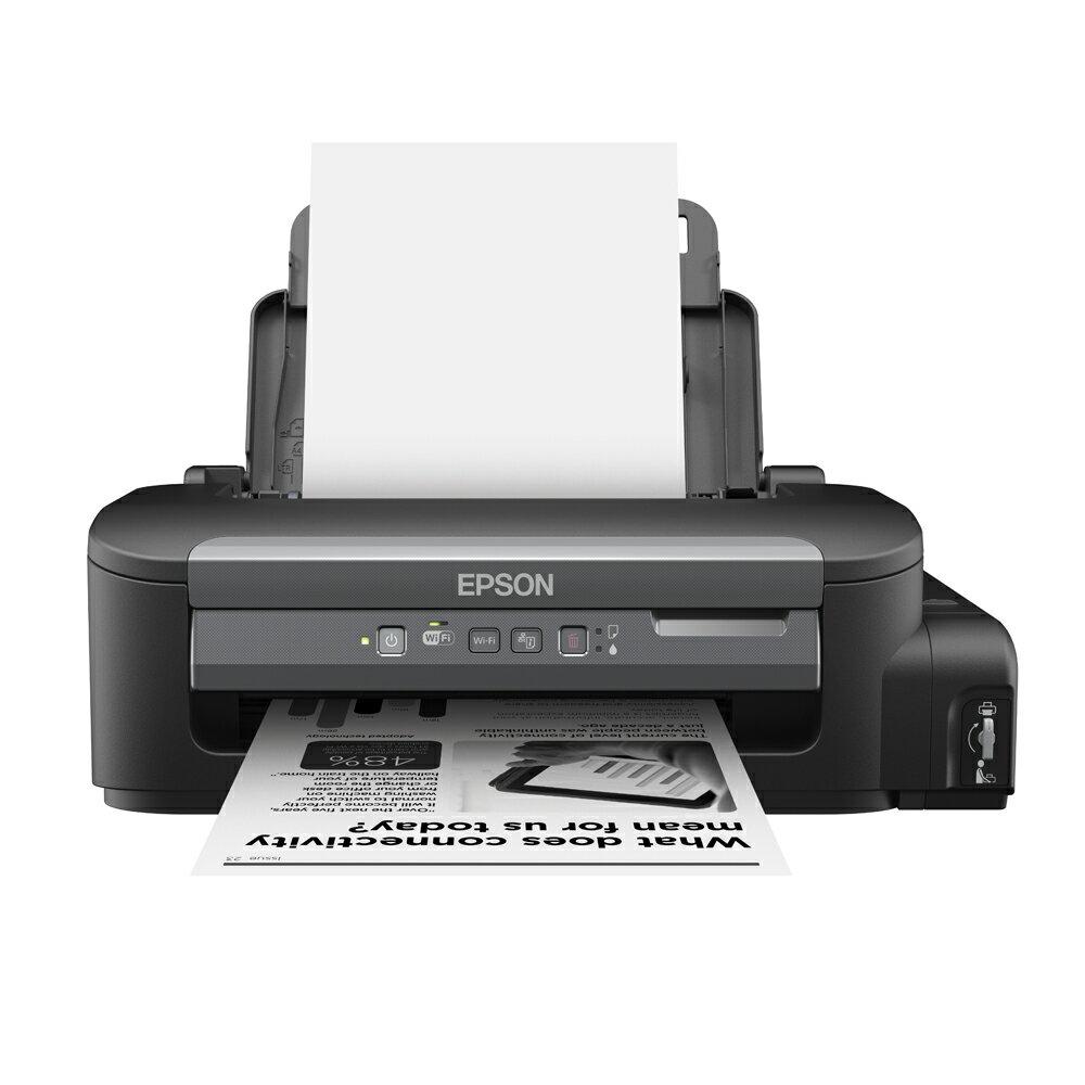 【原廠活動*免運加贈墨水組】愛普生 EPSON M105 黑白高速 Wifi 連續供墨印表機*另有L360/L380/L385
