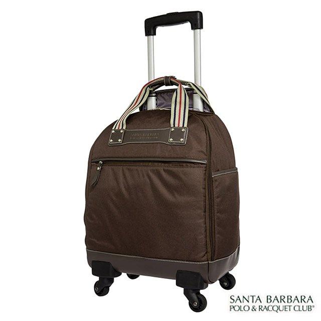 【加賀皮件】Santa Barbara 15吋 輕旅遊 多功能 多色 好收納 加西亞拉桿 行李箱 登機箱 PO13K15