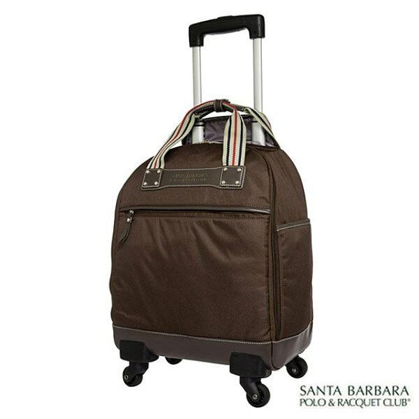 【加賀皮件】SantaBarbara15吋輕旅遊多功能多色好收納加西亞拉桿行李箱登機箱PO13K15