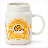 蛋黃哥週邊商品推薦asdfkitty可愛家☆蛋黃哥罐型陶瓷馬克杯-也可當筆筒或花器-日本正版商品
