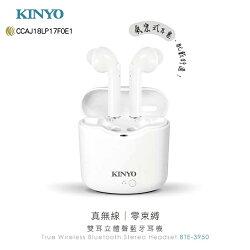KINYO 耐嘉 BTE-3950 雙耳立體聲藍牙耳機 Bluetooth 4.2 藍芽 無線 入耳式 氣密式 IPX4防潑水 防汗 運動 音樂播放