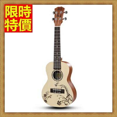 ☆烏克麗麗ukulele-23吋澳大利亞紅松木合板夏威夷吉他四弦琴弦樂器5款69x33【獨家進口】【米蘭精品】