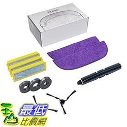 [107美國直購] iClebo Replenishment Part Kit, Includes Brushes and Filters for Omega Robot Vacuum Cleaner