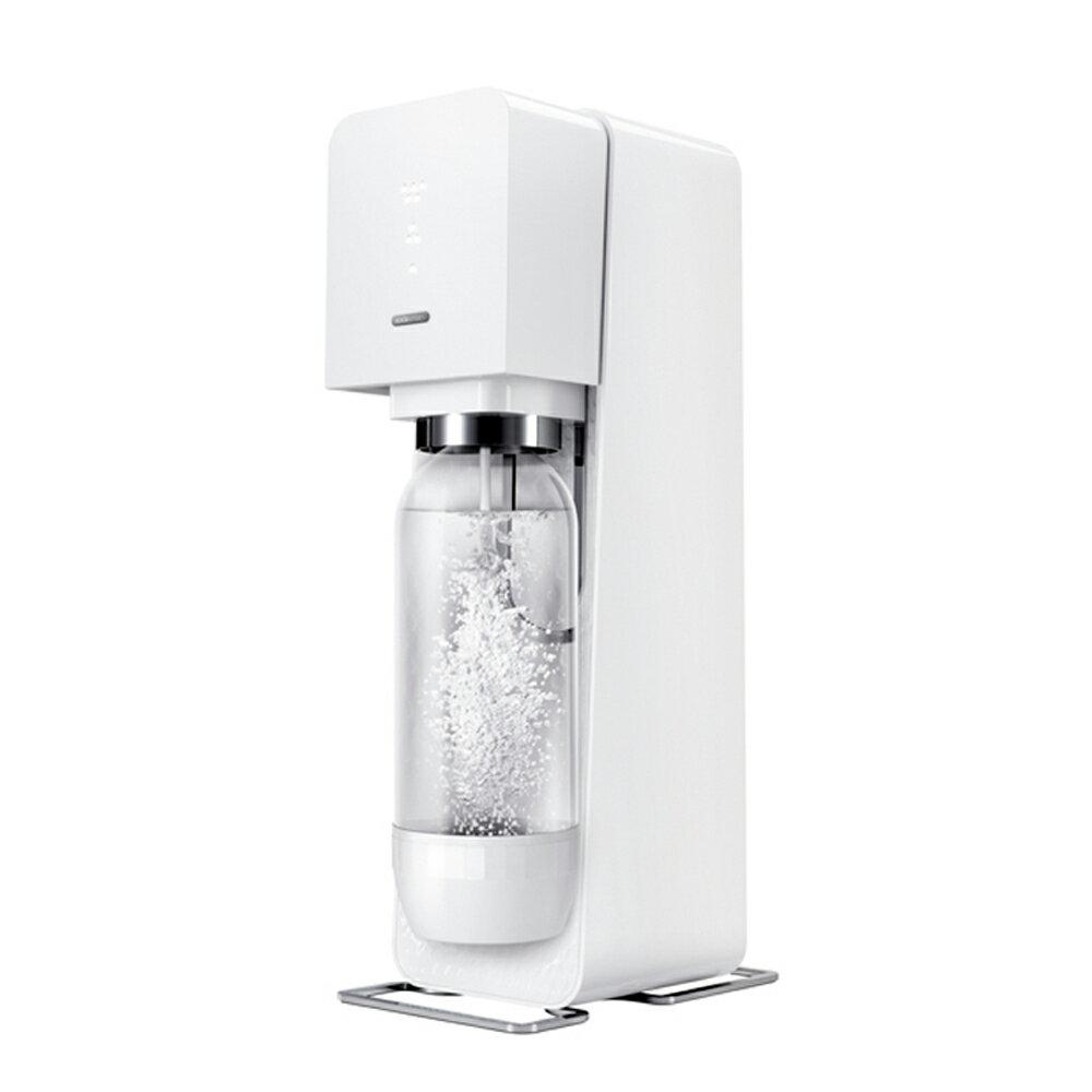 【Sodastream】SOURCE 氣泡水機/白