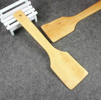 精品純天然木鏟無菸鍋鏟直鏟不粘鍋專用鏟飯勺