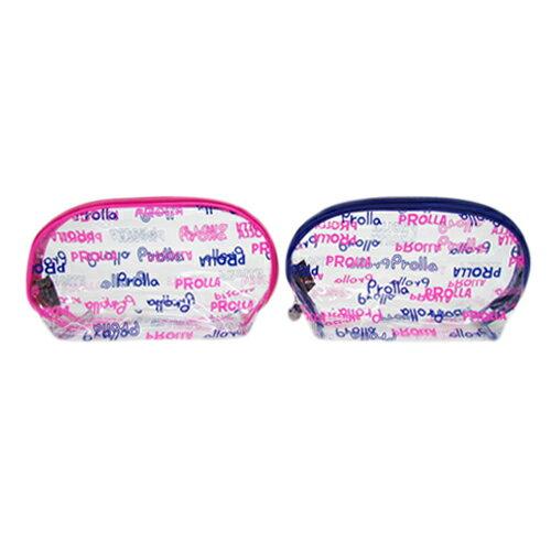 Prolla 透明化妝包 防潑水收納便利 夏日海灘風 1
