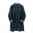 長版豹紋風衣 日系風格穿搭 經典豹紋配色 2