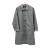 長版豹紋風衣 日系風格穿搭 經典豹紋配色 0
