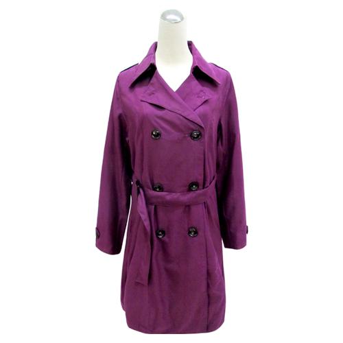 長版絨布風衣 潮流雨風衣 日系風雨衣外套 (5色) 4