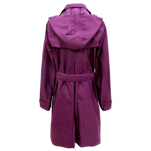 長版絨布風衣 潮流雨風衣 日系風雨衣外套 (5色) 6